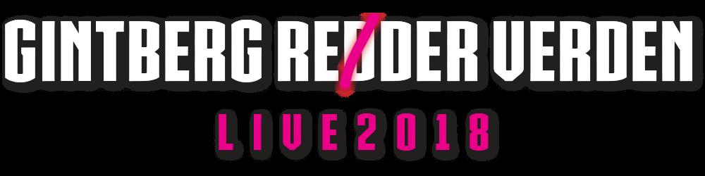 Gintberg Reder Verden 2018 - Turné